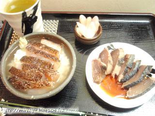鯛茶漬け風 ソイのづけ炙り茶漬け定食