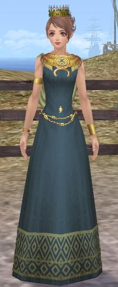 インカ豪族のドレス01