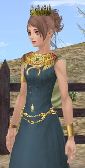 インカ豪族のドレス03