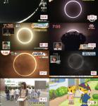 金環日食でも通常通りのテレビ東京