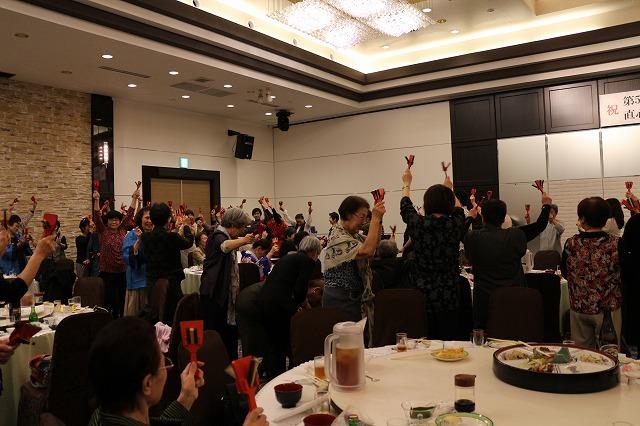 最後主催地の鳴子踊り 26.10.25