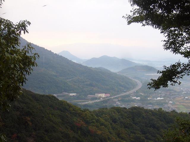 弥谷寺からの眺め 26.11