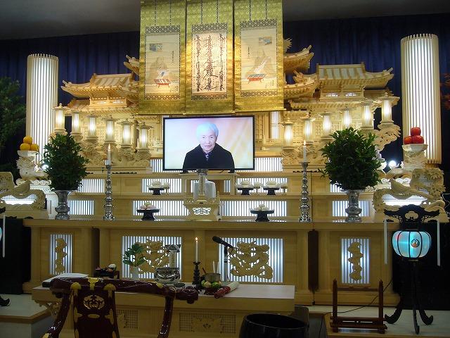 チエ子初七日法要 26.11.15