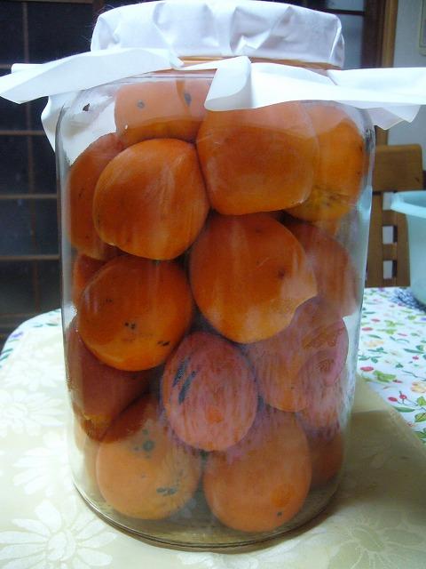 柿酢作り 26.11.20