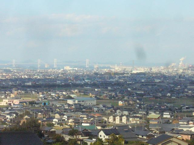 上から見ると瀬戸大橋 26.11.29