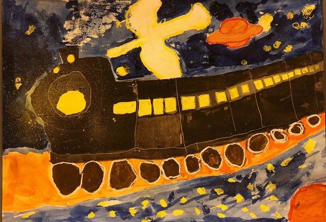 文化祭の海の作品 26.11.2