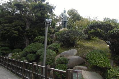 西郷銅像周辺散策