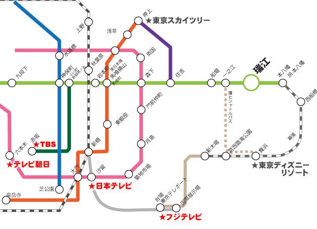テレビ局夏イベント