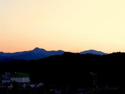 あさひ山TK1大岳山 御前山