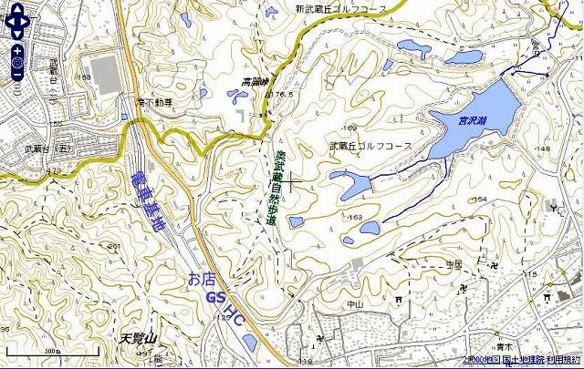 ☆地図 高麗峠 巾着田