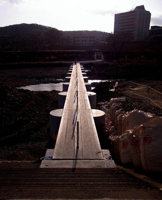 ☆R1040995流れ橋ー岩沢運動公園側から