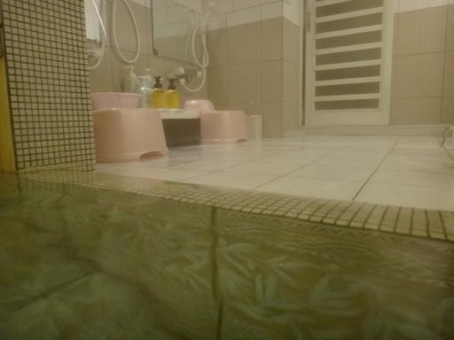 洗い場へ溢れる仕組み