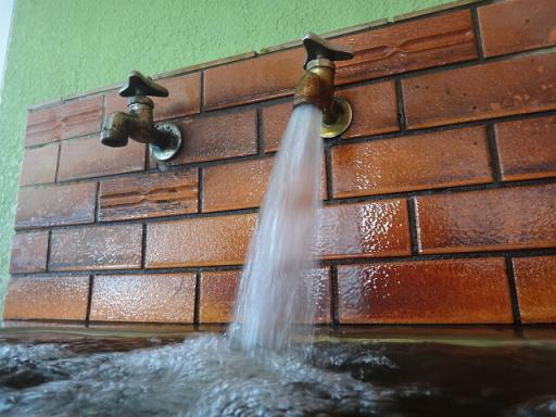 水風呂湯口