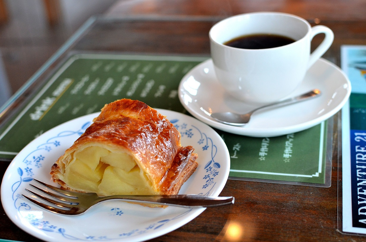 コーヒー&アップルパイ