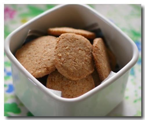 強力粉 クッキー