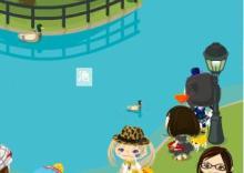 ピグ攻略・2011カレンダー無料ダウンロード・ぬりえ・ペイント・イラスト・グリーティングall無料-代々木公園 池