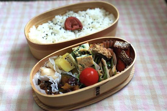 鮭のわさび醤油焼き弁当