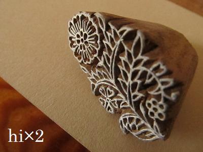 インドの木版