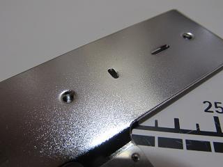 針板カバー損傷の図