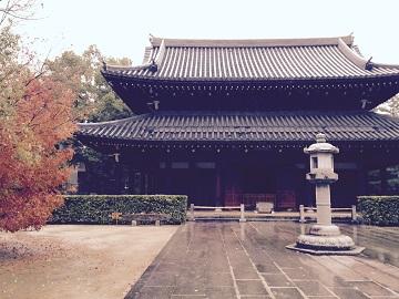 承天寺仏殿。
