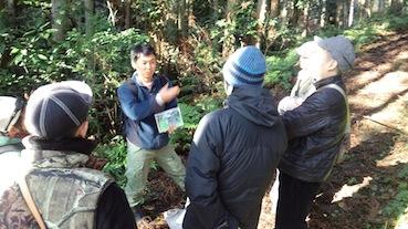 森のたね 猟師と森あるき IP