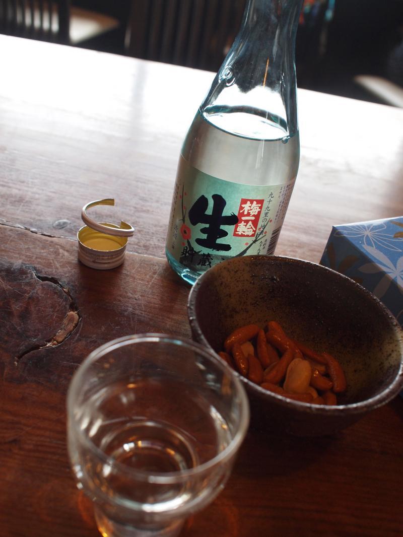 お酒と柿ピー
