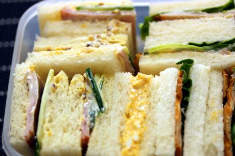サンドイッチ弁当2