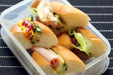 サンドイッチ弁当3
