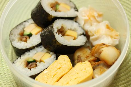 巻き寿司弁当4