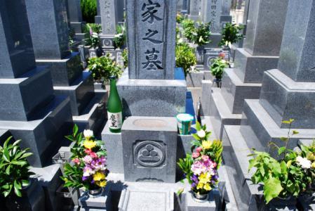 7127墓参り