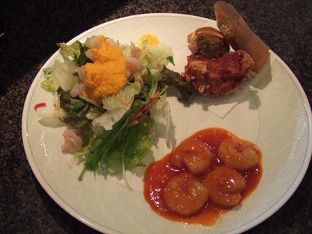 Cランチ+サラダプレート