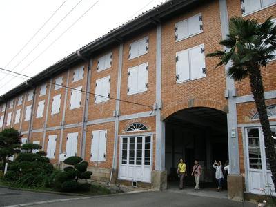 煉瓦作りの建物