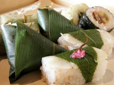柿の葉ずし&いざさ寿司