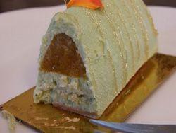 ケーキの断面