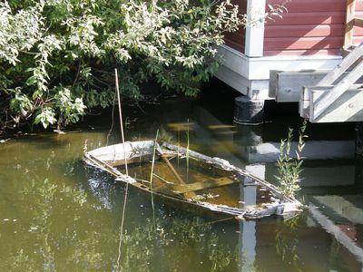 沈んだボート