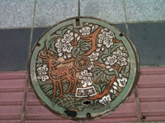 奈良マンホール鹿