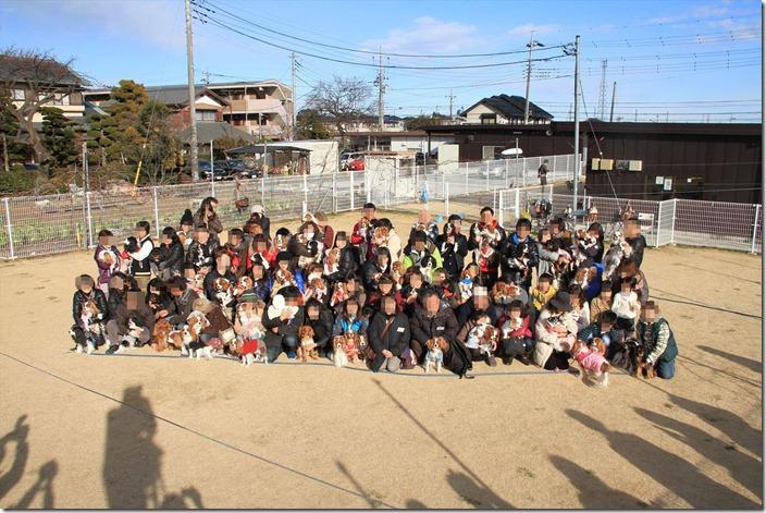 2013キャバリアまみれの新年会集合写真