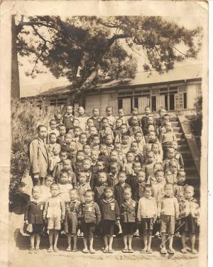 藤沢小学校一年生