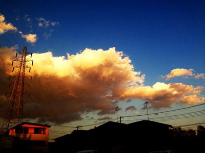 20140101 夕焼け