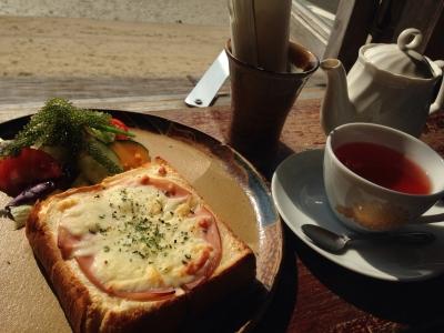 浜辺の茶屋 ブランチセット クロックムッシュ