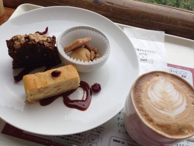 まんまるカフェ 自家製ケーキセット