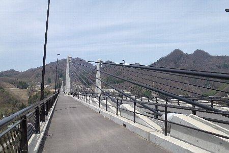 川原湯近くの橋