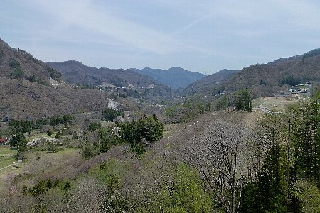 橋からの風景