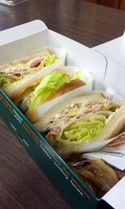 熊本市東部のデリッシュサンドイッチでデリバリー!