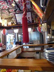 鹿児島市のかごっまふるさと屋台村内のTAGIRUBA(タギルバ)で長島産茶ぶり!