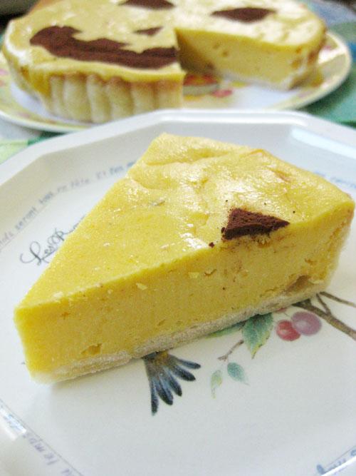 パンプキンチーズケーキ10