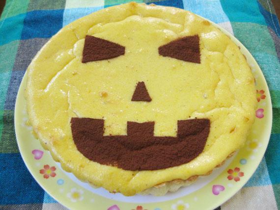 パンプキンチーズケーキ09