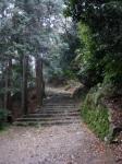 日吉・金大巌への山道15