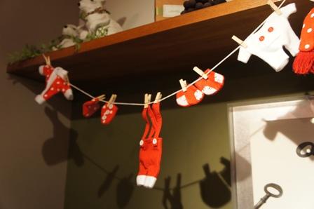 クリスマスガーランド2014ドット