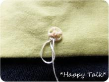 スナップボタンの縫い付け方2